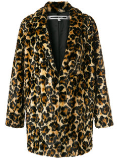 леопардовое пальто McQ Alexander McQueen