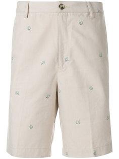 шорты с вышивкой логотипа Kenzo