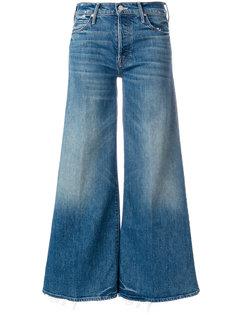 расклешенные укороченные джинсы The Stunner Roller Mother