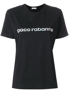 футболка с принтом логотипа Paco Rabanne