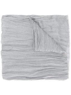 шарф с мятым эффектом Fabiana Filippi