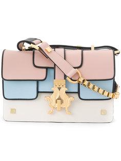 сумка на плечо с панельным дизайном Giancarlo Petriglia