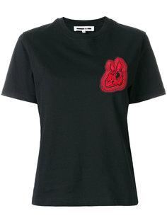 футболка с вышивкой Bunny  McQ Alexander McQueen