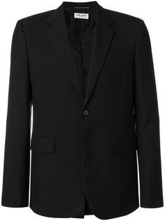 приталенный классический пиджак  Saint Laurent