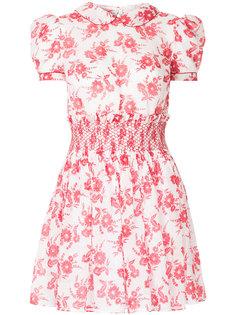 платье с цветочным принтом Miu Miu