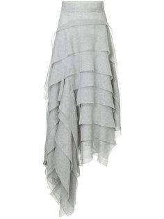 ruffled asymmetric skirt Maticevski