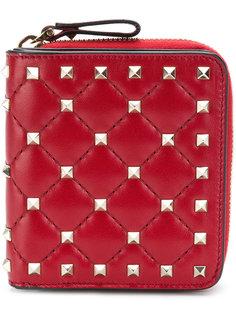 кошелек Valentino Garavani Rockstud Spike Compact  Valentino