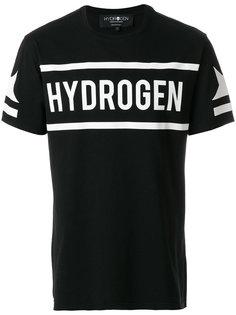 футболка с принтом-логотипом Hydrogen