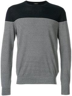 полосатый свитер Z Zegna