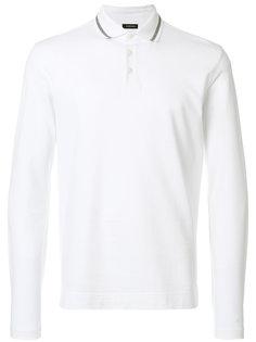 рубашка-поло с длинными рукавами Z Zegna