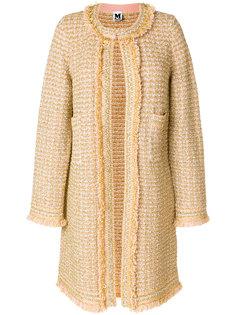 строгое пальто с вышивкой  M Missoni
