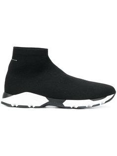 кроссовки с носочной вставкой Mm6 Maison Margiela