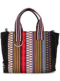 плетеная сумка-тоут Etro