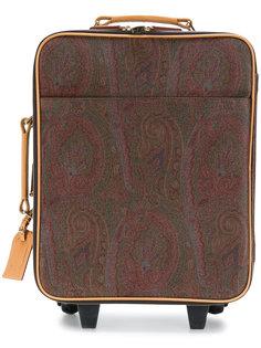 """чемодан с принтом """"пейсли"""" Etro"""