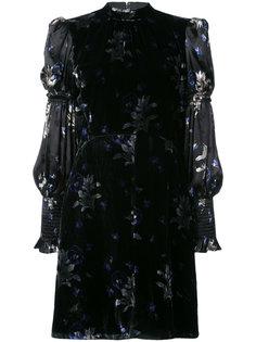 платье с объемными рукавами  Rebecca Taylor