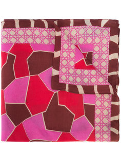 шарф с геометрическим принтом  A Peace Treaty