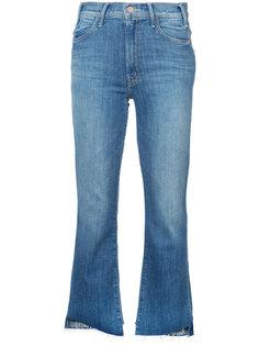 укороченные джинсы клеш  Mother