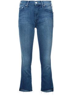 укороченные эластичные джинсы клеш Mother