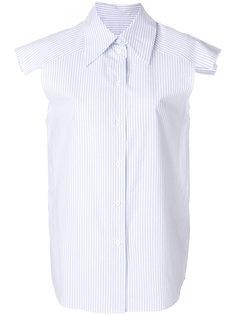 pinstripe sleeveless shirt Mm6 Maison Margiela