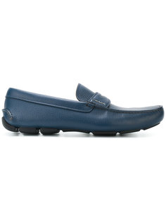 classic penny loafers Prada