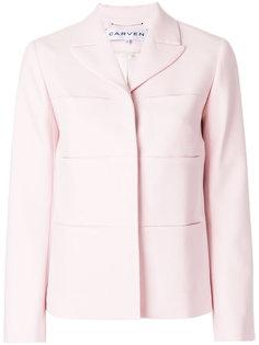 пиджак с широкими лацканами Carven
