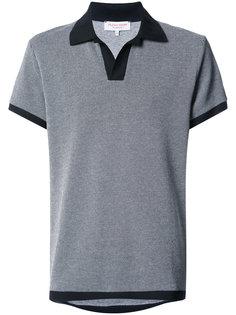 футболка-поло с контрастной отделкой  Orlebar Brown