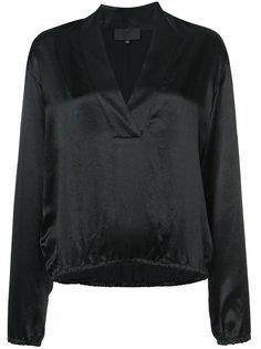 блузка свободного кроя с V-образным вырезом Nili Lotan