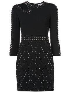 приталенное платье с заклепками  A.L.C.