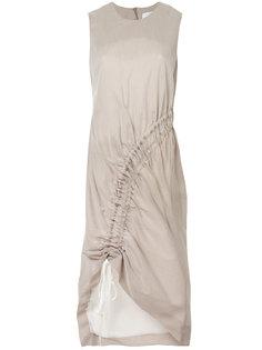 платье-туника без рукавов со сборкой Christopher Esber