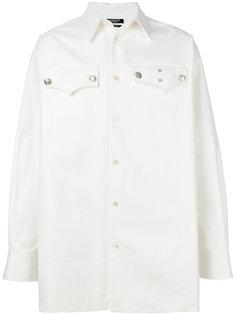 рубашка с карманами с клапанами Calvin Klein