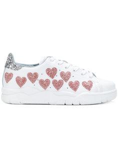 кроссовки с вышивкой Roger Chiara Ferragni