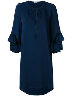 мини-платье с баской P.A.R.O.S.H.