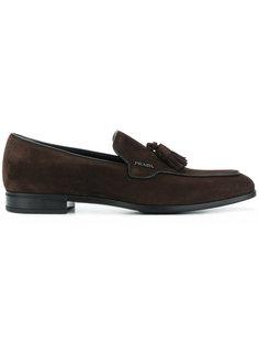 tassel detail loafers Prada