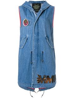 джинсовый жилет без рукавов  Mr & Mrs Italy