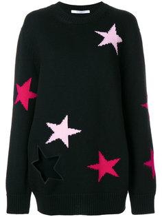 свитер с вышивкой звезд Givenchy