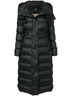 long puffer coat Burberry