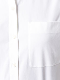 рубашка с накладным карманом Theory