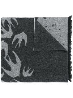 шарф с ласточками McQ Alexander McQueen