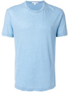 футболка с неравномерным подолом James Perse