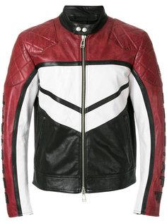 """куртка дизайна """"колор-блок"""" на молнии Belstaff"""