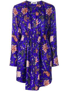 платье с цветочным принтом Dvf Diane Von Furstenberg