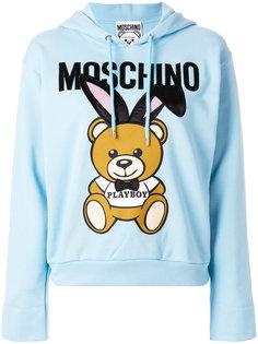 толстовка Playboy bear Moschino