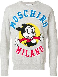 свитер Vintage Mickey Moschino