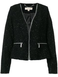 пиджак с цепочной окантовкой  Michael Michael Kors