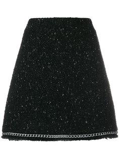 юбка с цепочной окантовкой Michael Michael Kors