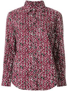 рубашка с мелким узором Marni