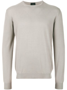 свитер с круглым вырезом Delloglio