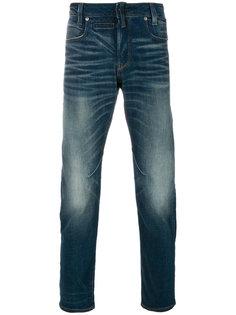 джинсы узкого кроя с выцветшим эффектом G-Star