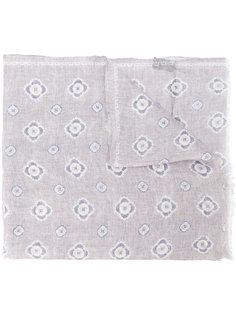шарф с цветочным принтом Delloglio