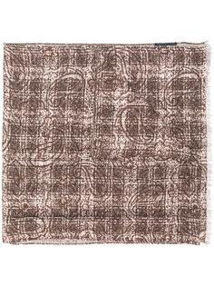шарф в клетку Delloglio